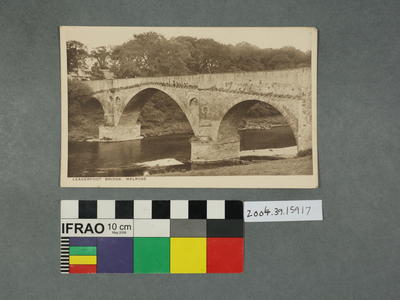 Postcard: Leaderfoot Bridge, Melrose