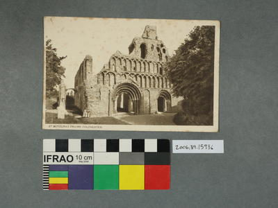 Postcard: St Botolph's Priory, Colchester