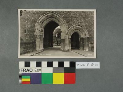 Postcard: Abbey Gates, St Albans
