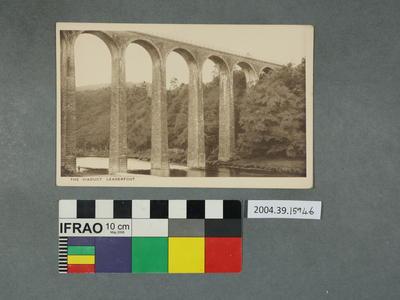 Postcard: The Viaduct, Leaderfoot
