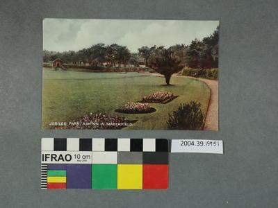 Postcard: Jubilee Park, Ashton in Markerfield