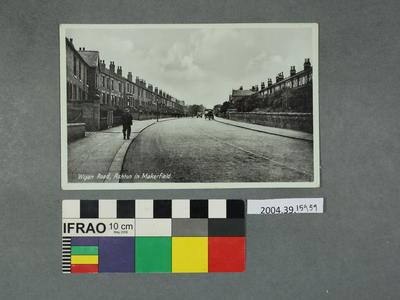 Postcard: Wigan Road, Ashton in Makerfield