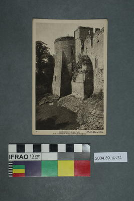 Postcard: Goodrich Castle SE Tower and Garderobes