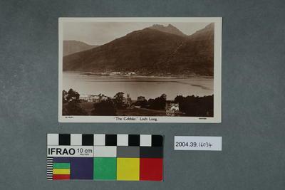 Postcard: The Cobbler, Loch Long