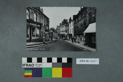 Postcard: Narrowgate, Alnwick