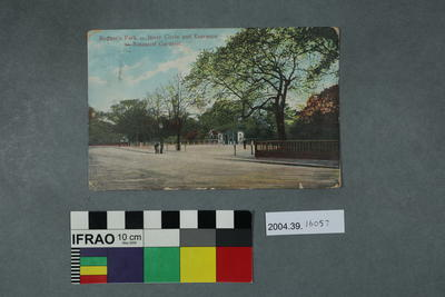 Postcard: Regent's Park