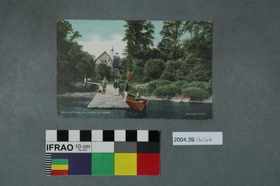 Postcard: Dinis Cottage, Killarney, Co Kerry