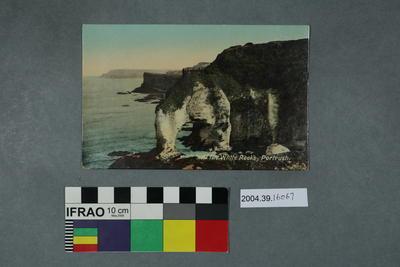 Postcard: At the White Rocks, Portrush