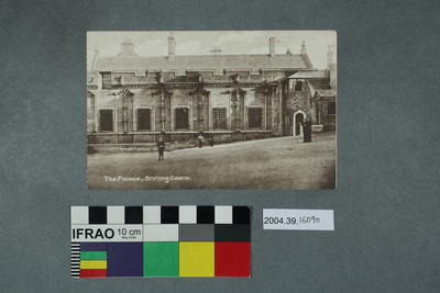 Postcard: The Palace, Stirling Gate