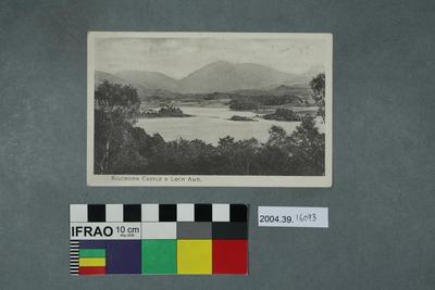 Postcard: Kilchurn Castle and Loch Awe