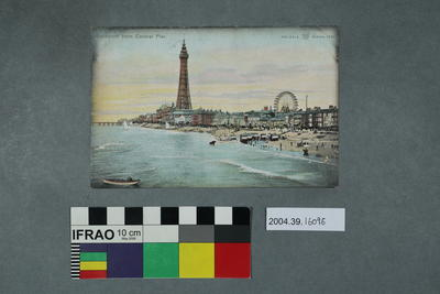 Postcard: Blackpool from Central Pier