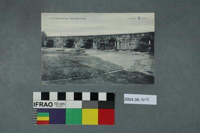 Postcard: Half Moon Battery, Edinburgh Castle