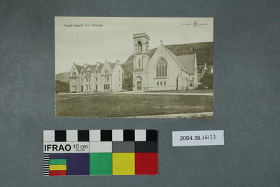 Postcard: Parish Church, Fort William