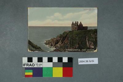 Postcard: Dunsky Castle, Port Patrick