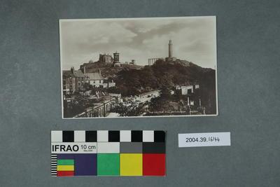 Postcard: The Calton Hill, Edinburgh