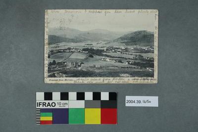 Postcard: Braemar from Morrone