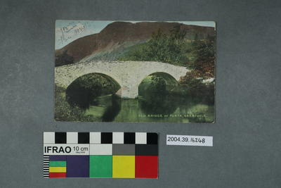 Postcard: Old Bridge of Forth, Aberfoyle