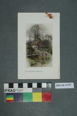 Postcard: The Wooden Bridge