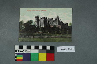 Postcard: Arundel Castle from the Meadows
