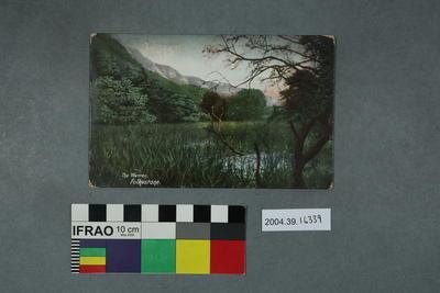 Postcard: The Warren, Folkestone
