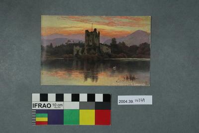 Postcard: Ross Castle, Killarney