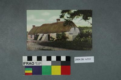 Postcard: A Real Irish Cottage