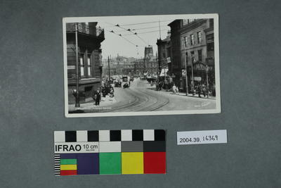 Postcard: Bradford, Foster Square