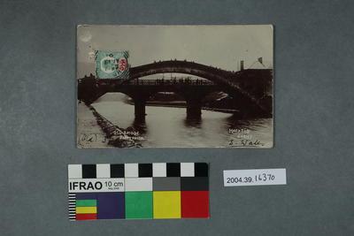 Postcard: Old Bridge, Pontypridd