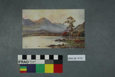 Postcard: Coniston Water and the Old Man