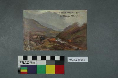 Postcard: Glen Shiel, Ross Shire