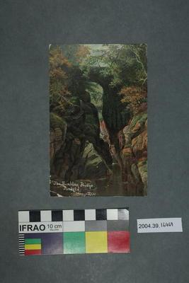 Postcard: The Rumbling Bridge, Dunkeld