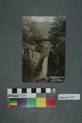 Postcard: The Hermitage Bridge, Dunkeld