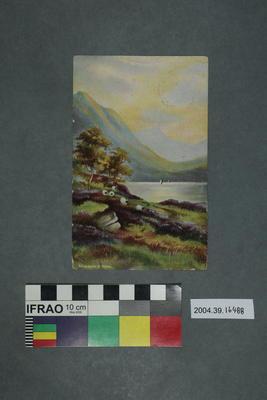 Postcard: Dinas Lake, North Wales