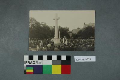Postcard: Memorial event