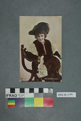 Postcard: Miss Madge Lessing
