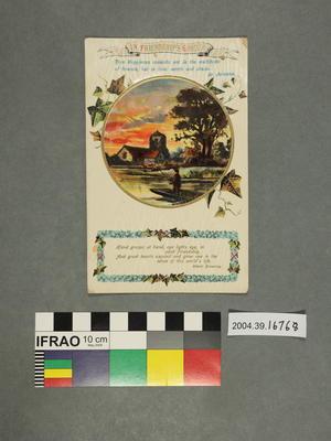 Postcard: In Friendship's Garden