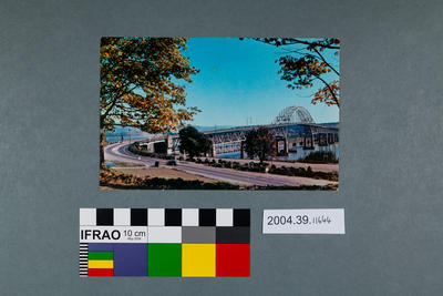 Postcard of Pattullo Bridge
