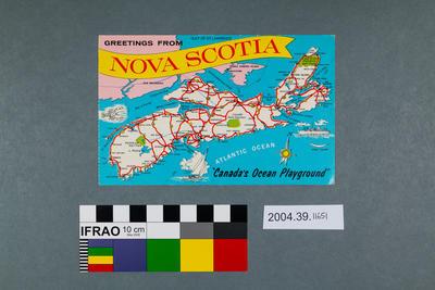 Postcard: Greetings from Nova Scotia