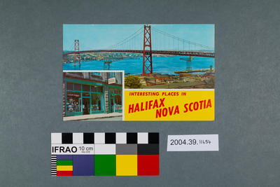 Postcard: Interesting Places in Halifax Nova Scotia