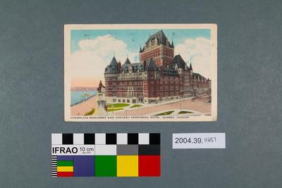 Postcard: Quebec, Canada
