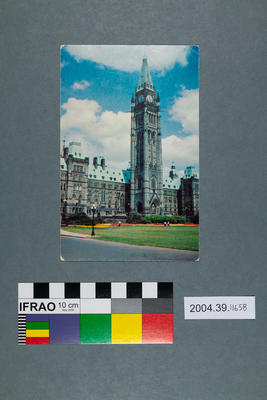 Postcard of the Peace Tower