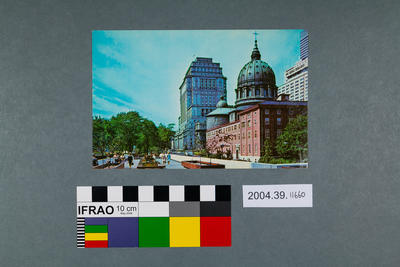 Postcard of Montreal, Canada