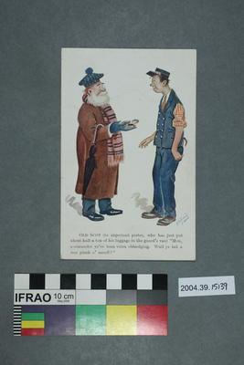 Postcard: Old Scot