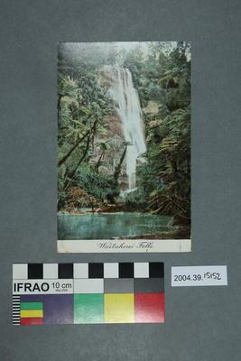 Postcard: Waitakerei Falls