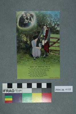 Postcard: Mary of Argyle