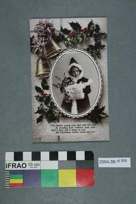 Postcard: A New Year Messenger