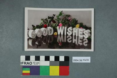 Postcard: Good Wishes