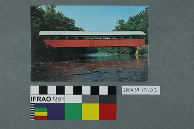 Postcard: Lower Humbert Covered Bridge