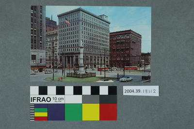 Postcard: Central Square, Youngstown