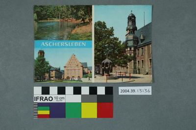 Postcard: Aschersleben